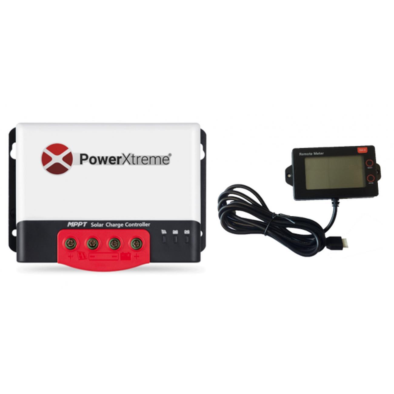 MPPT Solarladeregler PowerXtreme XS20s Mit Display
