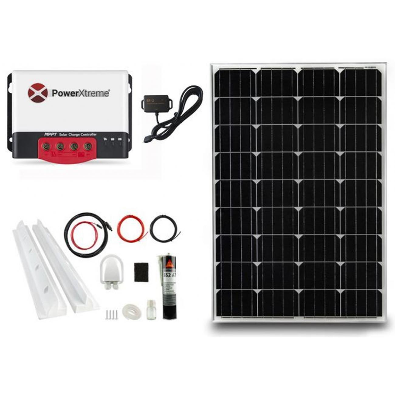 MPPT Solarladeregler PowerXtreme XS20s Mit Bluetooth 130W-Paket