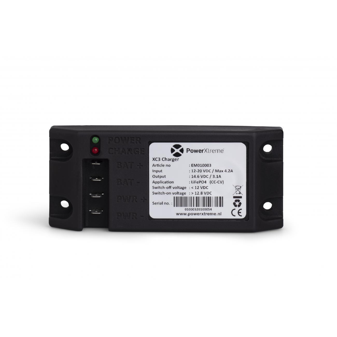 XC3 Charger Laden Sie Die Starterbatterie über Die Bordbatterie Auf